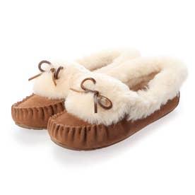 Amity Cuff Fur (Chestnut)