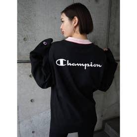 【EMODA×CHAMPION】ジャガードリブロンT (ブラック)