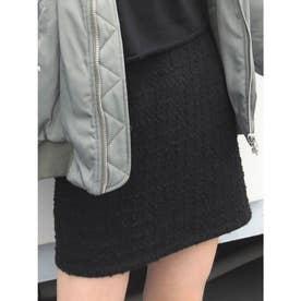 ツイードコルセットミニスカート(ブラック)