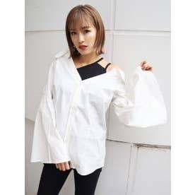 シェイプラインドッキングシャツ (WHT)
