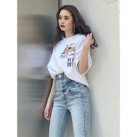コラージュフォトTシャツ(ホワイト)