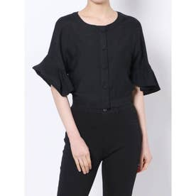 バックカッティングタイシャツ(ブラック)