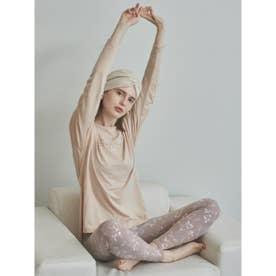 【yoga】サスティナロゴL/S TEE (PBEG)