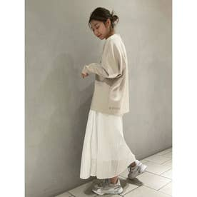 【atelier】プリーツスカート (WHT)