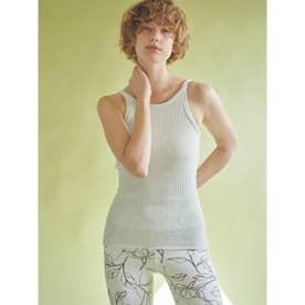 【yoga】カップ付きサステナブルニットキャミ (MNT)