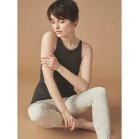 【yoga】カップ付きサステナブルニットキャミ (BRW)