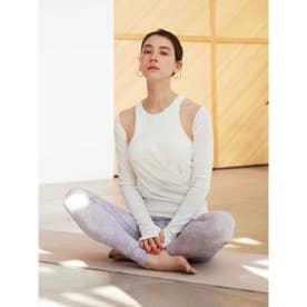 【yoga】スリーブボレロ付きタンクトップ (WHT)