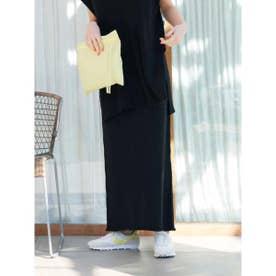 【atelier】ニットタイトスカート (BLK)