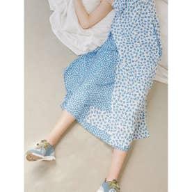【atelier】パネルスカート (BLU)