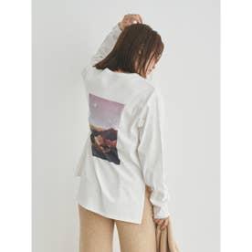 【atelier】グラフィックロングTシャツ (B)