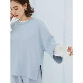 【atelier】テンセルオーバーロングTシャツ (WHT)