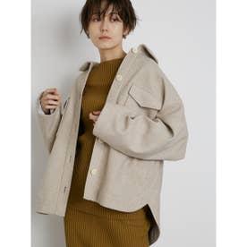 【atelier】CPOビックジャケット (LGRY)