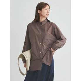 【atelier】ストレッチBIGシャツ (BRW)