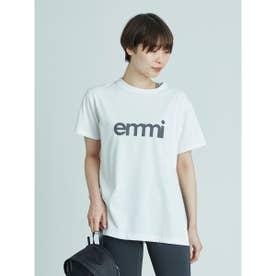 【yoga】emmiロゴサスティナTシャツ (WHT)