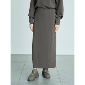 【atelier】リラックススカート (CGRY)