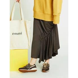 【atelier】アシンメトリースカート (DBRW)