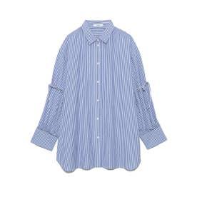 【atelier】ビックスリーブシャツ (STRIPE)
