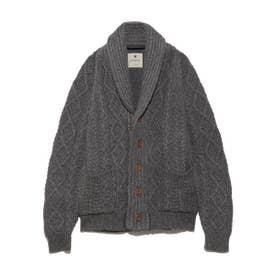【SnowPeak】Alpaca Knit Cardigan (GRY)