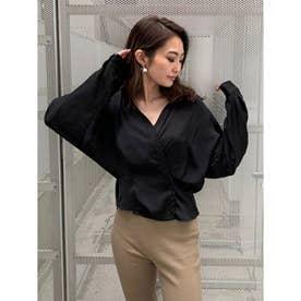 ドルマンルーズシャツ (BLACK)