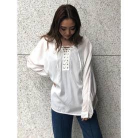 ドルマンスピンドルシャツ (WHITE)