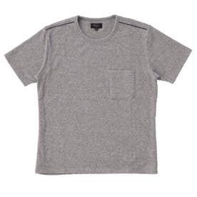 ストレッチパイル(ソデス)ショートスリーブシャツ (杢グレー)