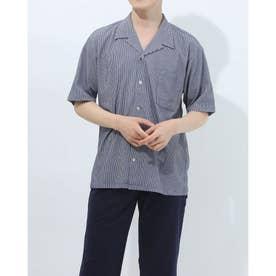 半袖開襟シャツ (コン)