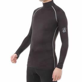 高機能 シルキースポーツインナー メンズ (ブラック/グレー)