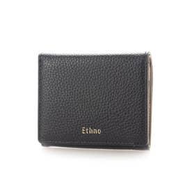 内側BOX型小銭2つ折財布 (ネイビー)
