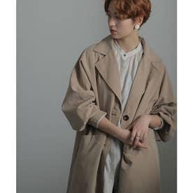 ラグランボリューム袖コート 21SS (ベージュ系)