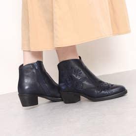 ブーツ (ネイビー)