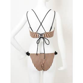 【WEB限定】STRIPE FRILL SWIM WEAR(ミックス)