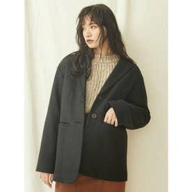 ルーズジャケットコート(ブラック)