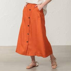 *eclat掲載*アイアススカート (オレンジ)