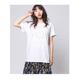 【Factor=】 スカラップ刺繍T (生成(004))