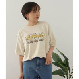 Bear プリントTシャツ(オフホワイト)