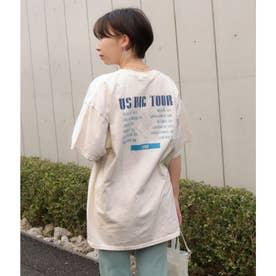 TOUR プリントTシャツ(オフホワイト)