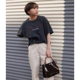 TOUR プリントTシャツ(ブラック)