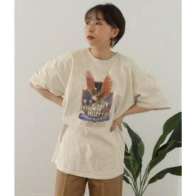 イーグルプリントTシャツ(オフホワイト)