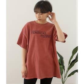 LIVE プリントTシャツ(レッド)