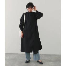 タイプライターシャツドレス(ブラック)