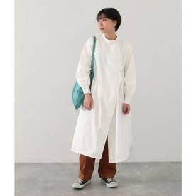 タイプライターシャツドレス(ホワイト)
