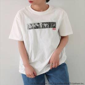 LIFEプリントTシャツ(ホワイト)