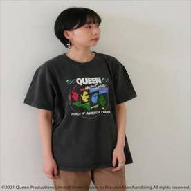 QUEENプリントTシャツ(ブラック)