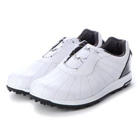 FJ TREADS BOA  メンズダイヤル式スパイクレスゴルフシューズ (WHITE)
