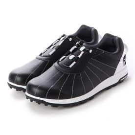 FJ TREADS BOA  メンズダイヤル式スパイクレスゴルフシューズ (BLACK)