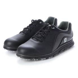 FJ PRO SL SPKL メンズ防水スパイクレスゴルフシューズ (BLACK)