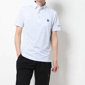 メンズ ゴルフ 半袖シャツ Xプリント ライルシャツ 9683600443