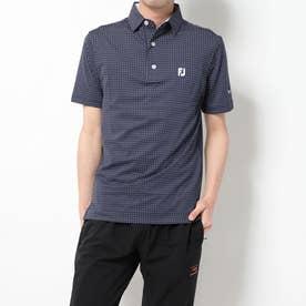 メンズ ゴルフ 半袖シャツ Xプリント ライルシャツ 9683600542