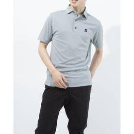 メンズ ゴルフ 半袖シャツ 21SS選べるシャツ 0353223282 (グレー)