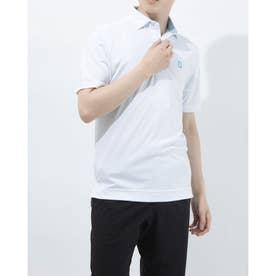 メンズ ゴルフ 半袖シャツ 21SS選べるシャツ 0353223107 (ホワイト)